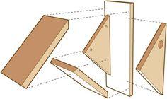 DIY+Birdhouses+-+make+a+chickadee+nesting+box+-+diagram