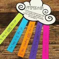 Preposition Craft #HollieGriffithTeaching #CraftsForKids #KidsActivities