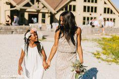 Bridesmaid Hair, Bridesmaid dresses long, sequin dress, adrianna papell, bridesmaid bouquet, flower girl