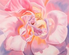 Oil Painting Pink Rose Print-Gift of the Rose Collection- Open Edition-Gratitude- 8x10 on Etsy, $19.99