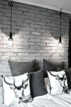 Industrial inspired bedroom