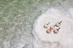 Our dead sea salt body scrubs are coated in macadamia, almond & soya bean oils; all natural ingredients to provide you with healthier, glowing skin. #SabonBodyScrub #Sabon