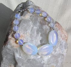 Opalite & Sterling Silver Crystal Gemstone by SunnyCrystals, £9.75 #pcfteam