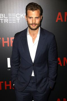 Jamie Dornan Suits Up for 'Anthropoid' Red Carpet