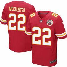 Men's Nike Kansas City Chiefs #22 Dexter McCluster Elite Team Color Red Jersey $129.99