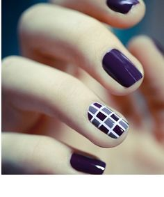 Hottest Purple Nail Designs 2015 – 2016