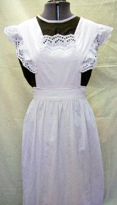 Victorian/Edwardian Maid - beautifully designed costume.    Very accurate replica of a traditional maids outfit from this period.