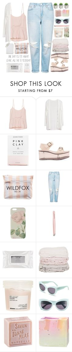 """""""I'm Breaking"""" by bellacharlie ❤ liked on Polyvore featuring Talula, Herbivore, Y.R.U., Wildfox, Topshop, Ted Baker, Anastasia, Stila, Davines and L'Occitane"""