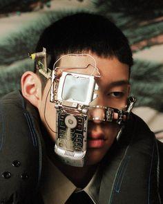 Vaporwave, Arte Cyberpunk, Metal Magazine, Cybergoth, Poses, Retro Futurism, Futuristic, Art Photography, Make Up