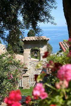 Belfry in the villa garden - Taormina, Sicily  | by © Riccardo Consiglio