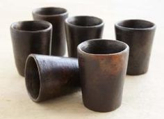 clay cups made in segou, mali. Benefits International Women's Democracy Center