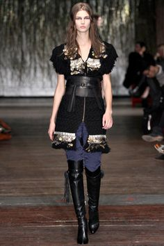 Love the belt and boots!!    Altuzarra-Fall 2012