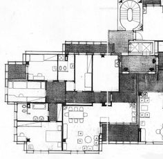 Residential building, Monza, Angelo Mangiarotti, 1972