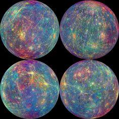 Astonishing Images of Mercury