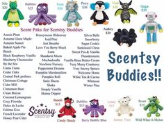 Scentsy Buddies available www.alexismata.scentsy.us