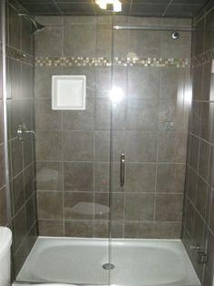tile shower walls cast iron floor - Google Search