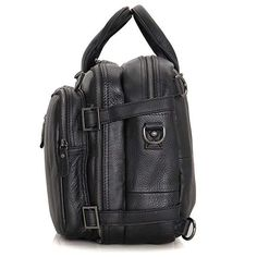 Fashionable, updated version of the classical briefcase backpack.Excellent cowhide leather. As a laptop bag, Clean Vintageconvertible messenger bag backpack f