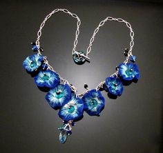 Crystal Blossoms on Craftcast: https://www.craftcast.com/classes/learn-make-crystal-blossom-polymer-clay-necklace-lisa-pavelka