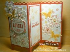 Simply Stamping With Narelle -  Dividing Screen Card - click on the pc to go to my blog for all the details