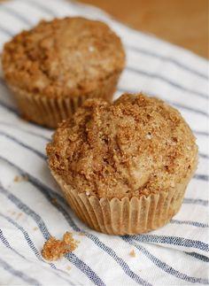 Brown Sugar Banana Bread Muffins.  http://blogs.babble.com/family-kitchen/2012/10/09/brown-sugar-banana-bread-muffins/