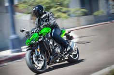 Fierce looks and ferocious power make the Z1000 a dominant force on the street.