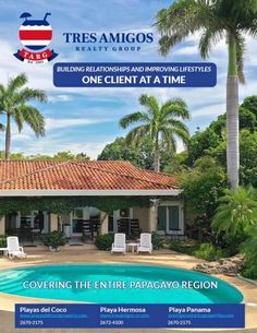 Tres Amigos Realty - The Howler Magazine Gulf Of Papagayo, Living In Costa Rica, Paradise Found, Costa Rica Travel, Pacific Coast, Central America, Panama, Real Estate, Outdoor Structures