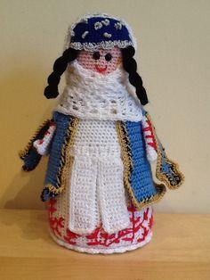 Yerevan Armenian Knit Doll