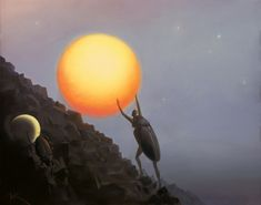 Vladimir Kush - Ascending Sysiphus