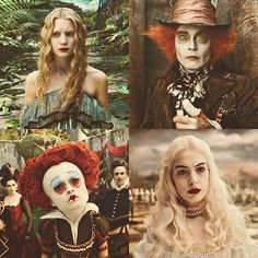 Alice in Wonderland ~ Disney, Tim Burton Tim Burton Art, Tim Burton Films, Lewis Carroll, Tatto Alice, We All Mad Here, Tim Burton Characters, Chesire Cat, Johny Depp, Mia Wasikowska