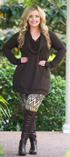 Don't Ruffle My Feathers Top - Brown - Perfectly Priscilla Boutique