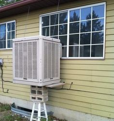 Another quality hack #HVAC installation.