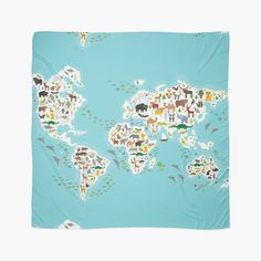 http://www.redbubble.com/people/ekaterinap/works/15541338-cartoon-animal-world-map-for-children?p=scarf