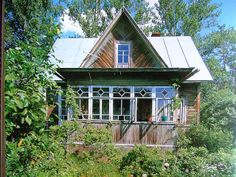 Russian house...love the architecture!