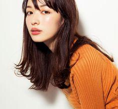 VOCE 2016年3月号 森絵梨佳 しっとり肌感&ひと束だけ ツヤを足した髪がポイント
