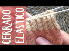 Calcetines toe-up: cerrado elástico Bind Off Knitting, Knitting Socks, Knitted Hats, Fingerless Gloves, Arm Warmers, Knit Crochet, Stitch, Sewing, Up