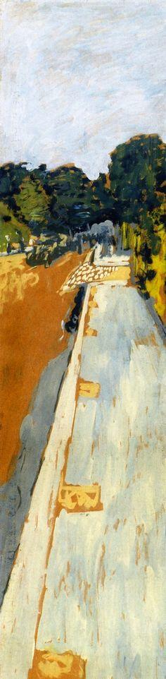 The Athenaeum - Avenue Henri-Martin (Decorative Project II) (Edouard Vuillard - 1908)