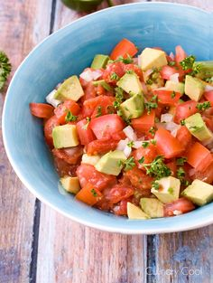 Avocado Salsa | Culinary Cool