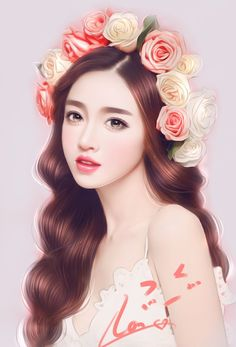 Shared by ✩ KIM DAE RI ✩. Find images and videos about cute, beautiful and art on We Heart It - the app to get lost in what you love. Korean Art, Asian Art, Art Pictures, Photos, Beautiful Fantasy Art, Beautiful Paintings, Art Of Beauty, Painting Of Girl, Digital Art Girl