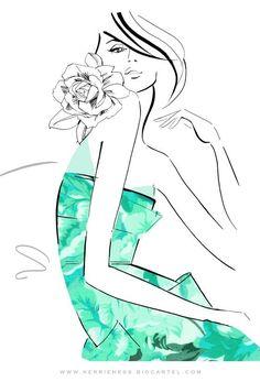 New Fashion Illustration Sketches Women Megan Hess Ideas Megan Hess Illustration, Fashion Illustration Sketches, Fashion Sketches, Illustration Art, Fashion Drawings, Fashion Painting, Fashion Art, Kerrie Hess, Moda Chic