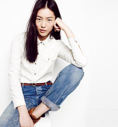 Basic look by Madewell