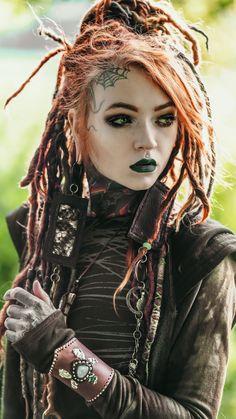 Ideas Photography Fantasy Girl Goddesses For 2019 Fantasy Girl, Chica Fantasy, Fantasy Warrior, Dark Beauty, Gothic Beauty, Tattoo Girls, Girl Tattoos, Costume Viking, Arte Lowrider