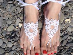 Tatting barefoot sandals