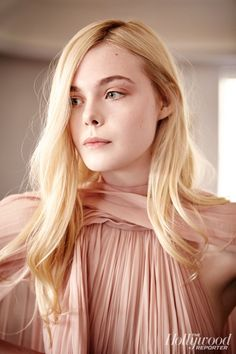 Elle Fanning - The Hollywood Reporter 2014
