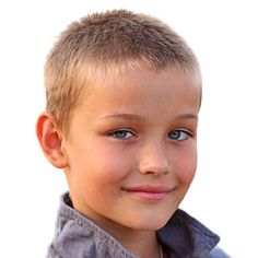 Taglio capelli per ragazzino