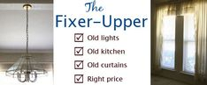 How to Find the Right Fixer-Upper House at Small Notebook. Great tips!