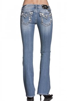#Missme Abstract Leather Jeans at #BWR #blingbling
