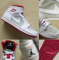 51accdaa6d3 Jordan Shoes | Im Selling Some Hare 1s Great Condition 1-10 10 | Color:  Gray/Red | Size: 7.5