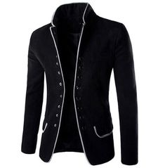 Blazers For Men Casual, Casual Blazer, Mens Tunic, Mens Fashion Blazer, Men's Fashion, Latest Fashion, Men Blazer, Fashion Suits, Fashion Brand
