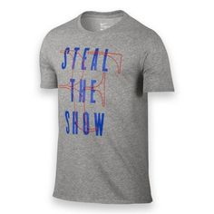 Nike RF Steal The Show Mens Dri-FIT Mens Tennis Shirt Grey 828054 063 FEDERER #Nike #ShirtsTops