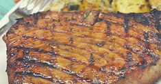 Marinated Tuna Steak Recipe is a tasty & super delicious American dish. It is easy to prepare & takes just about 30 minutes to make it. Marinated Tuna Steak, Tuna Steak Recipes, Grilled Shrimp Recipes, Tuna Steaks, Healthy Grilling Recipes, Healthy Foods To Eat, Healthy Cooking, Seafood Recipes, Beef Recipes